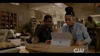 Microsoft Surface TV Spot, 'The CW: All American: Extended Play'