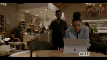 Microsoft Surface TV Spot, 'The CW: All American: Extended Play' - Thumbnail 4