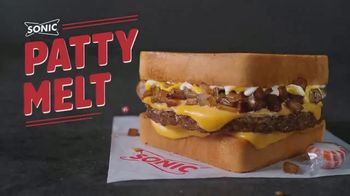 Sonic Drive-In Patty Melt TV Spot, 'Ooey-Gooey'
