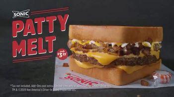 Sonic Drive-In Patty Melt TV Spot, 'Ooey-Gooey' - Thumbnail 9