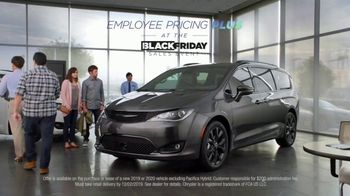 Chrysler Black Friday Sales Event TV Spot, 'Van Family With Employee Pricing' [T2] - Thumbnail 1