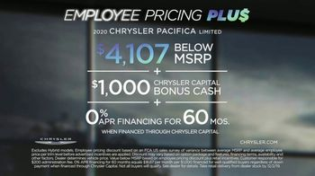 Chrysler Black Friday Sales Event TV Spot, 'Van Family With Employee Pricing' [T2] - Thumbnail 7