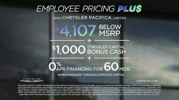 Chrysler Black Friday Sales Event TV Spot, 'Van Family With Employee Pricing' [T2] - Thumbnail 8