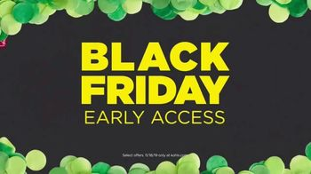 Kohl's Black Friday Early Access TV Spot, 'Monday Early Access: Luggage, Sheets & Toys'