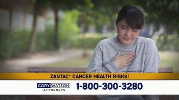 Cory Watson Law TV Spot, 'Heartburn Drugs: Cancer'