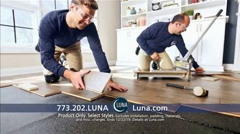 Luna Flooring 70 Percent Off Sale TV Spot, 'Floors You'll Love for Less' - Thumbnail 3