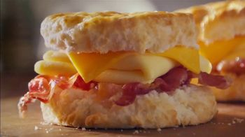 Bojangles' 2 for $4 Bacon, Egg and Cheese Biscuit TV Spot, 'Biscuit Rodeo' - Thumbnail 1