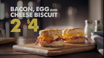 Bojangles' 2 for $4 Bacon, Egg and Cheese Biscuit TV Spot, 'Biscuit Rodeo' - Thumbnail 6