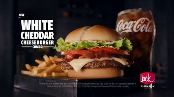 Jack in the Box White Cheddar Cheeseburger Combo TV Spot, 'This Date' - Thumbnail 8