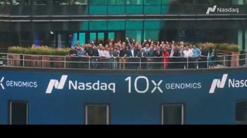 NASDAQ TV Spot, '10x Genomics' - Thumbnail 10