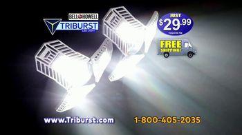 Bell + Howell Triburst LED Light TV Spot, 'Crazy Bright: Free Shipping' - Thumbnail 10