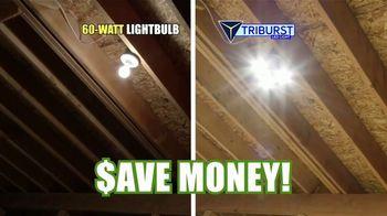 Bell + Howell Triburst LED Light TV Spot, 'Crazy Bright: Free Shipping' - Thumbnail 8