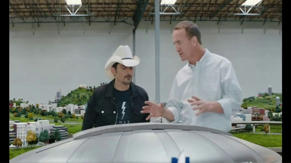 Nationwide Insurance TV Commercial, 'Peytonville's Nationwide Dome' Featuring Brad Paisley, Peyton M