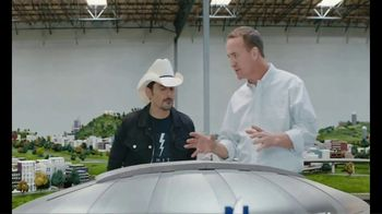 Nationwide Insurance TV Spot, 'Peytonville's Nationwide Dome' Featuring Brad Paisley, Peyton Manning - 1460 commercial airings