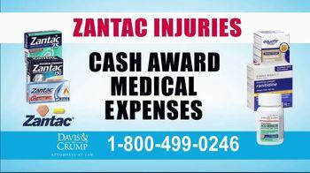 Davis & Crump, P.C. TV Spot, 'Zantac' - Thumbnail 6