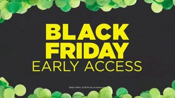 Kohl's Black Friday Early Access TV Spot, 'Comforters, Personal Care and Beauty'