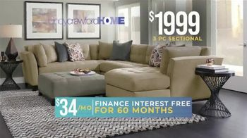 Rooms to Go Holiday Sale TV Spot, 'Right Now: Cindy Crawford Sectionals' - Thumbnail 3