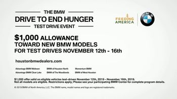BMW Drive to End Hunger Test Drive Event TV Spot, 'Holiday Parties' Song by OK Go [T2] - Thumbnail 10