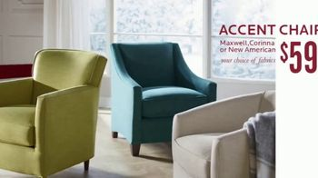 Bassett Black Friday Sale TV Spot, 'Accent Chairs, Dining Set and Recliners'