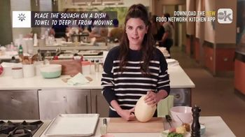 Food Network Kitchen App TV Spot, 'Katie Shares Squash Safety' - 283 commercial airings
