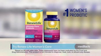 Renew Life Ultimate Flora Probiotic Women's Care TV Spot, 'Digestive Issues: 25 Percent Off' - Thumbnail 4