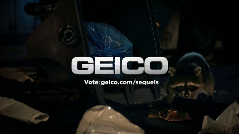 Roadside Assistance Progressive >> GEICO TV Commercial, 'Raccoons Sequel: Heist' - iSpot.tv
