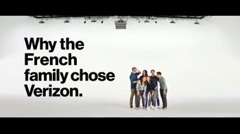 Verizon TV Spot, \'French Family: Disney+ on Us and BOGO\'