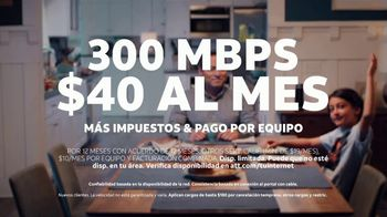 AT&T Internet Fiber TV Spot, 'Altavoz inteligente: traduce' [Spanish] - Thumbnail 9