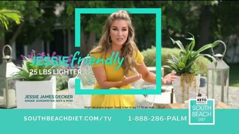 South Beach Diet TV Spot, 'The Friendlier Way to Do Keto' Featuring Jessie James Decker - Thumbnail 7
