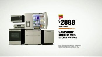 The Home Depot TV Spot, 'Upgrade Your Appliances: Samsung Kitchen Package' - Thumbnail 9