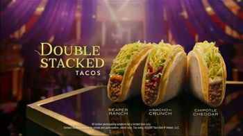 Taco Bell $1 Double Stacked Tacos TV Spot, 'Big Show'
