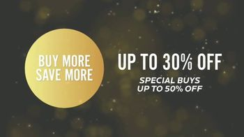 Bassett New Year Sale TV Spot, 'Special Buys: Aiden Sofas, Accent Chairs & Dining Sets'