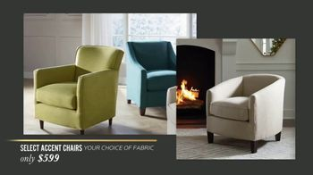 Bassett New Year Sale TV Spot, 'Special Buys: Aiden Sofas, Accent Chairs & Dining Sets' - Thumbnail 3