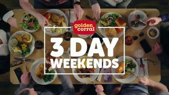 Golden Corral TV Spot, 'Three Day Weekends' - Thumbnail 5