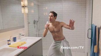 Keeps TV Spot, 'Shower Song'