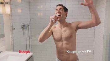 Keeps TV Spot, 'Shower Song' - Thumbnail 4