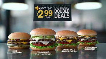 Carl's Jr. Guacamole Double Cheeseburger TV Spot, 'Not a Typo' - Thumbnail 6