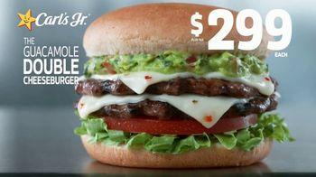 Carl's Jr. Guacamole Double Cheeseburger TV Spot, 'Not a Typo'
