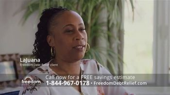 Freedom Debt Relief TV Spot, 'An Affordable Debt Solution'