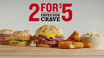 Arby's 2 for $5 TV Spot, 'Build a Meal'