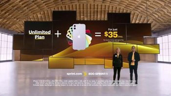 Sprint TV Spot, 'Great News: Unlimited and iPhone 11' - Thumbnail 3