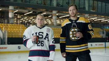 Dunkin' TV Spot, 'Talkin' Hockey With Pasta and Kendall: Chirps' Feat. David Pastrňák, Kendall Coyne Schofield