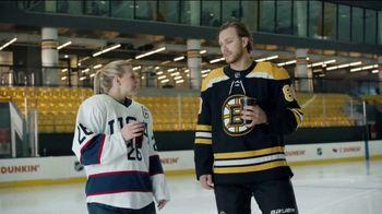 Dunkin' TV Spot, 'Talkin' Hockey With Pasta and Kendall: Chirps' Feat. David Pastrňák, Kendall Coyne Schofield - Thumbnail 5