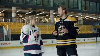 Dunkin' TV Spot, 'Talkin' Hockey With Pasta and Kendall: Chirps' Feat. David Pastrňák, Kendall Coyne Schofield - Thumbnail 6