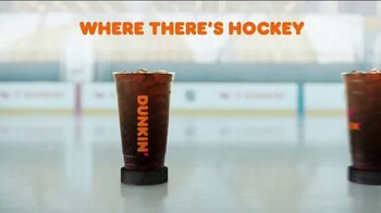 Dunkin' TV Spot, 'Talkin' Hockey With Pasta and Kendall: Chirps' Feat. David Pastrňák, Kendall Coyne Schofield - Thumbnail 9
