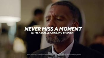 Halls Relief TV Spot, 'Never Miss a Moment: Wedding Day'