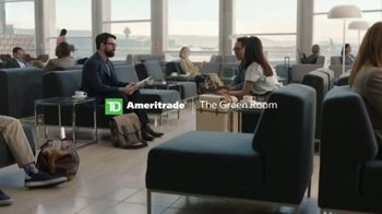 TD Ameritrade TV Spot, \'The Green Room: Airport\'