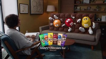 M&M's Chocolate Bar TV Spot, 'Stuck'
