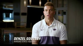 Big 12 Conference TV Spot, 'Champions for Life: Denzel Goolsby' Featuring Chris Klieman - 1 commercial airings