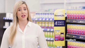 Renew Life Ultimate Flora Probiotic Women's Care TV Spot, 'MediFacts: Digestive Issues'